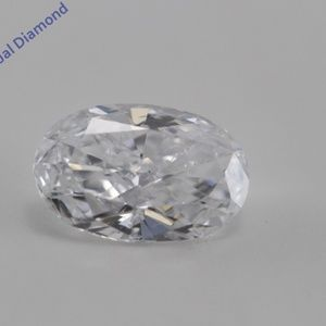 Oval Loose Diamond 0.52 Ct Laser Drilled C200348
